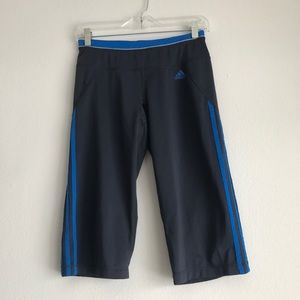 Adidas Climalite Athletic Capris Size Small